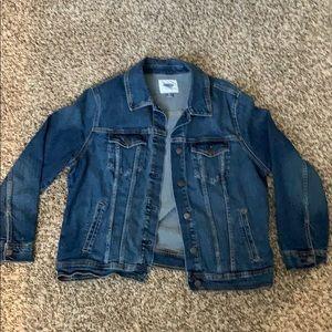 Old navy xl medium blue Jean jacket